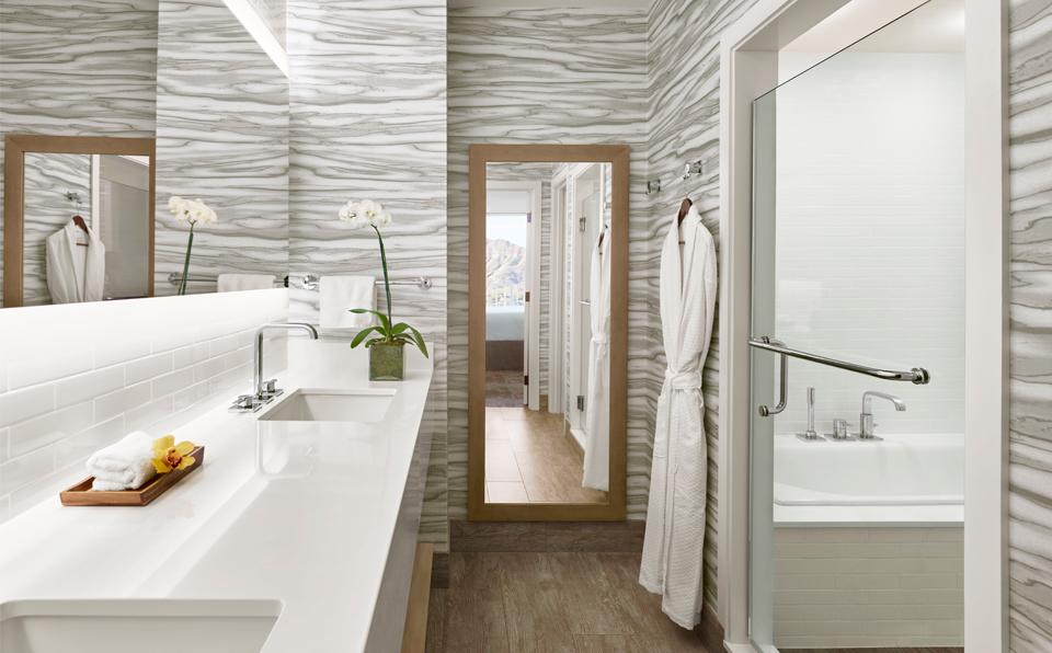 バスルーム ダブルシンク洗面台