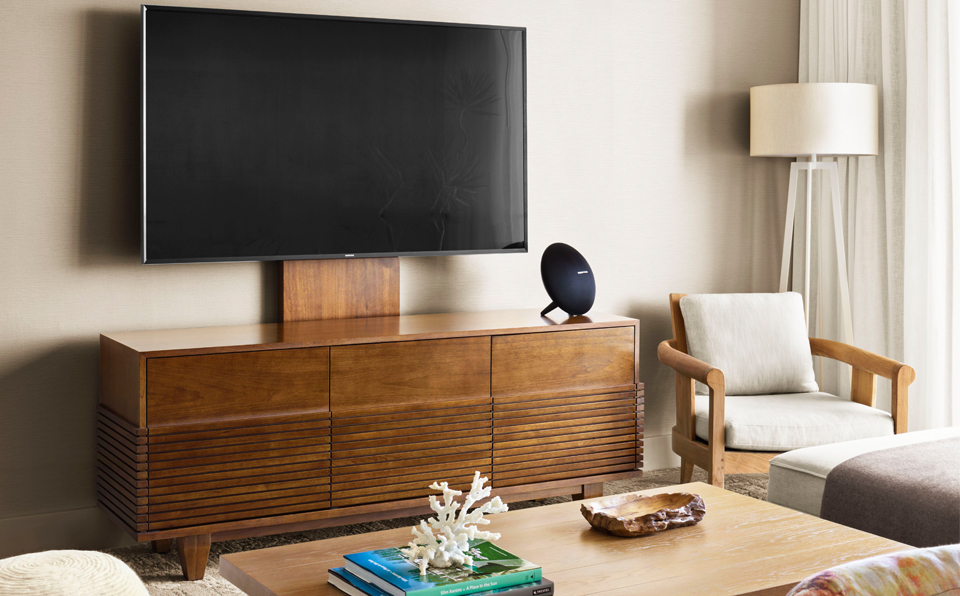 65インチTV、ハーマン・カードン社製サウンドシステム